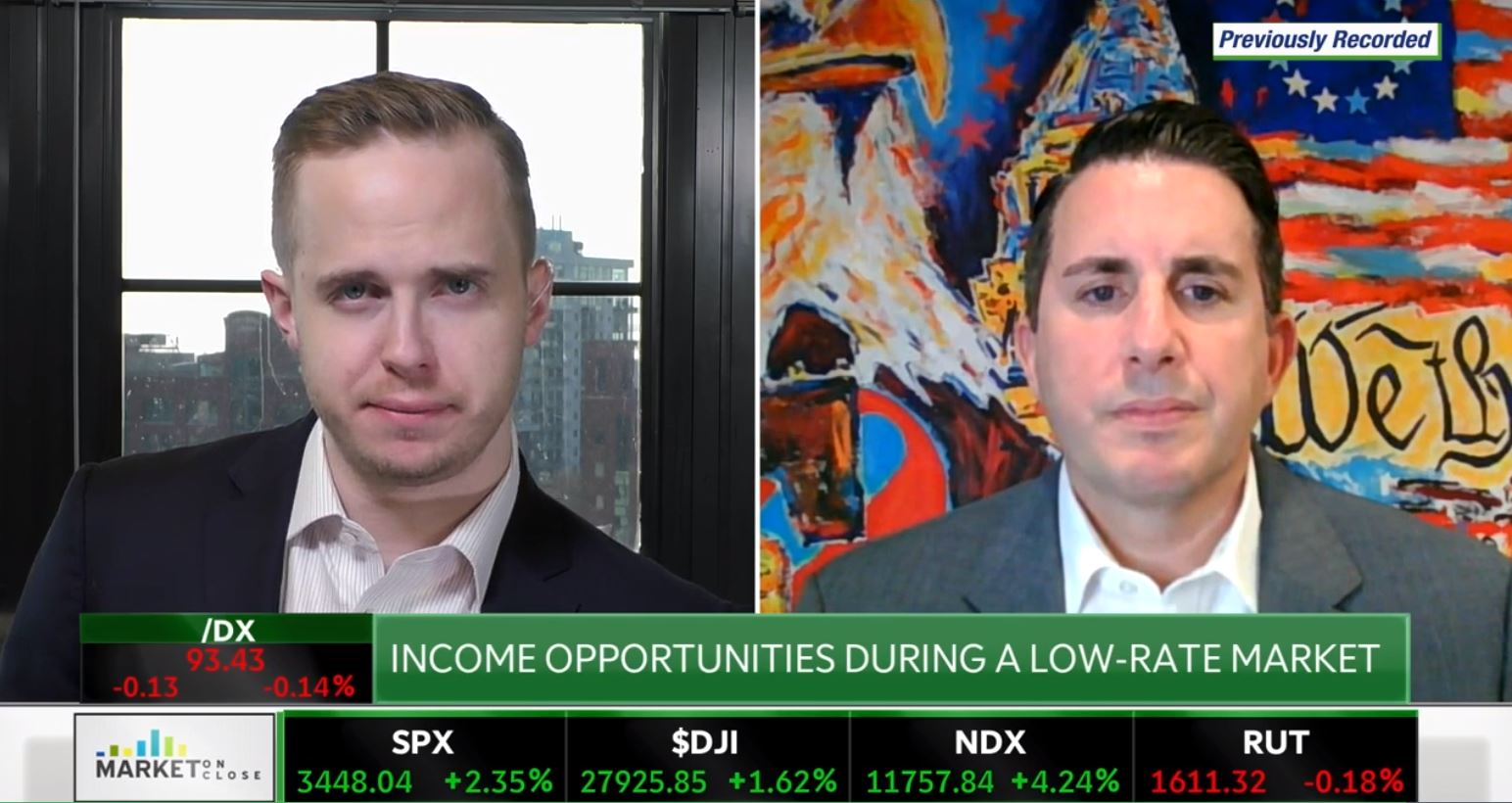 "Portfolio Manager George Cipolloni Discusses His Outlook for the Bond Market on TD Ameritrade Network's ""Market On Close"" Photo"